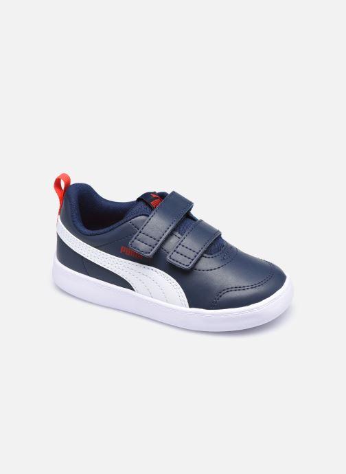 Sneaker Puma Courtflex v2 blau detaillierte ansicht/modell