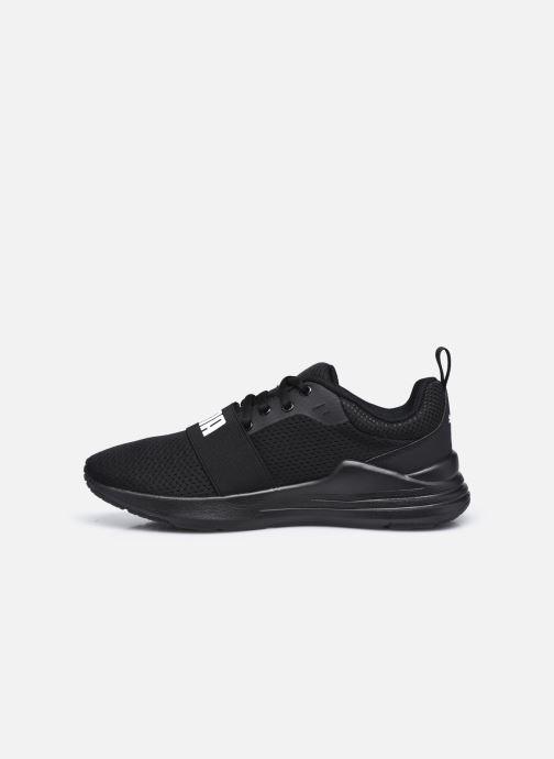 Sneakers Puma Wired Run K Zwart voorkant