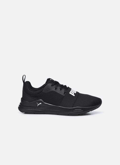 Sneakers Puma Wired Run K Zwart achterkant