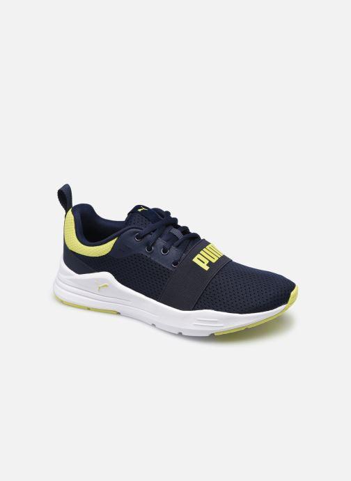 Sneakers Puma Wired Run K Zwart detail