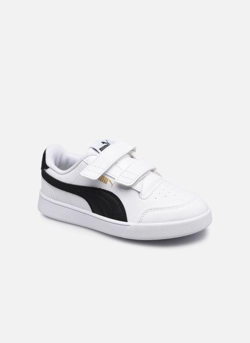 Sneakers Puma Shuffle K Wit detail