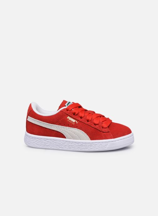 Sneakers Puma Suede Classic XXI K Rood achterkant