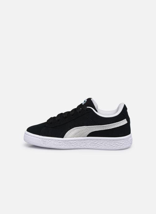 Sneaker Puma Suede Classic XXI K schwarz ansicht von vorne