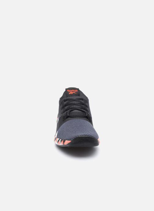 Sneaker Reebok Flashfilm Train 2.0 schwarz schuhe getragen