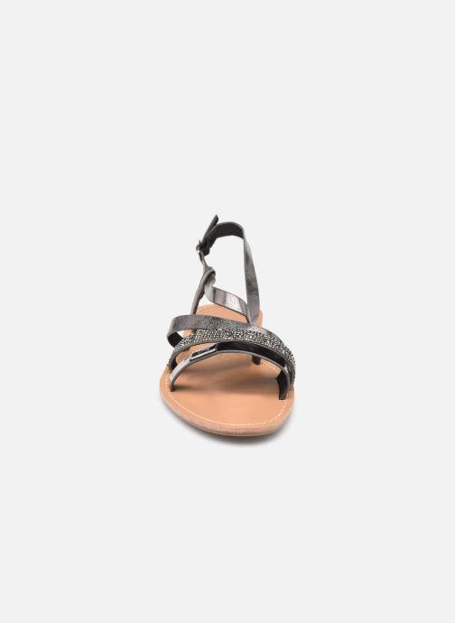 Sandali e scarpe aperte LPB -LES PETITES BOMBES BERREN Grigio modello indossato
