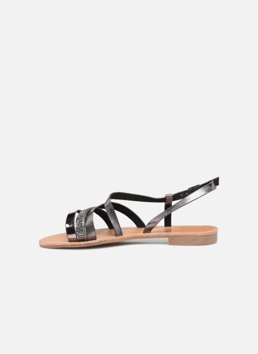 Sandali e scarpe aperte LPB -LES PETITES BOMBES BERREN Grigio immagine frontale
