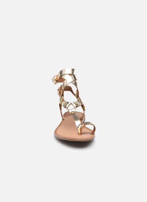 Sandalen LPB -LES PETITES BOMBES BLEONA Goud en brons model
