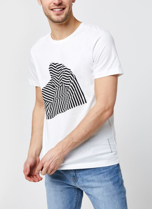 T-shirt - Slhregroxy Ss O-Neck Tee  G