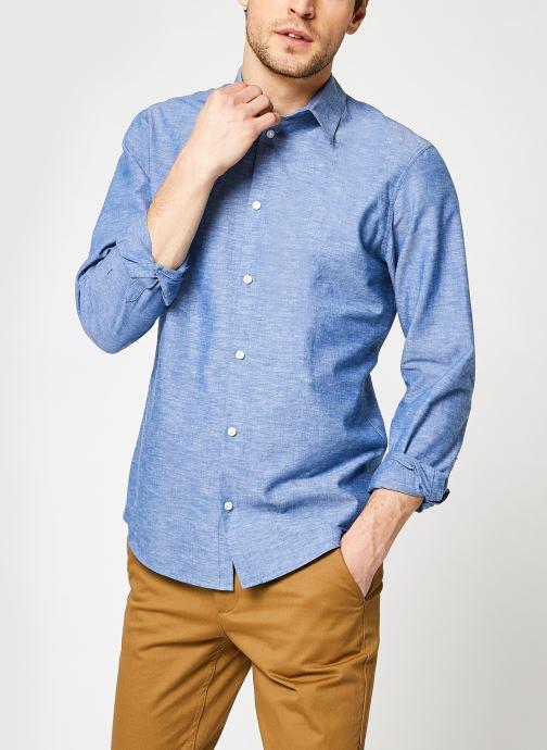 Abbigliamento Accessori Slhslimnew-Linen Shirt Ls G NOOS
