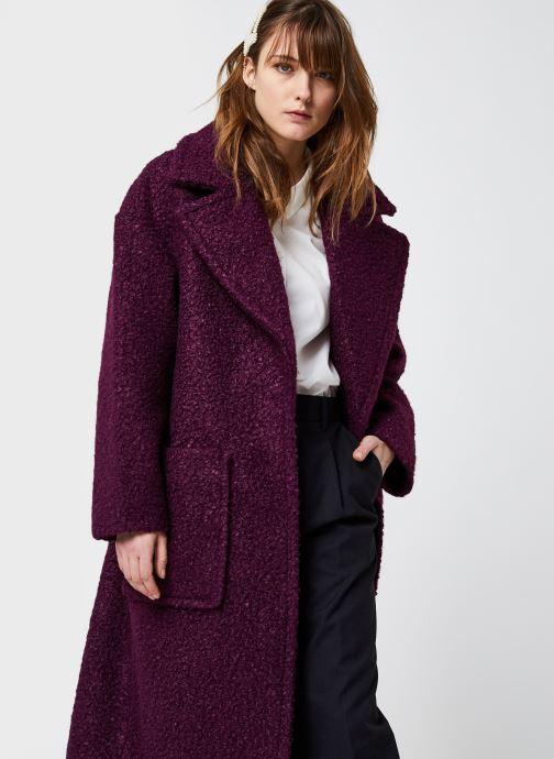 Vêtements UGG Hattie Violet vue détail/paire