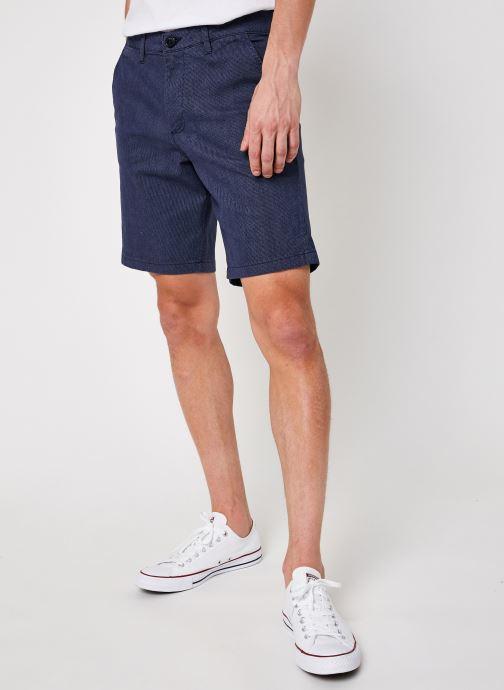 Vêtements Selected Homme Slhmiles Flex Mix Shorts W Bleu vue détail/paire