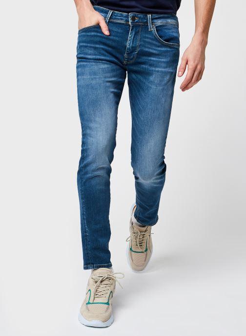 Kleding Selected Homme Slhslim-Leon 6266 M.B Su-St Jeans U Noos Blauw detail