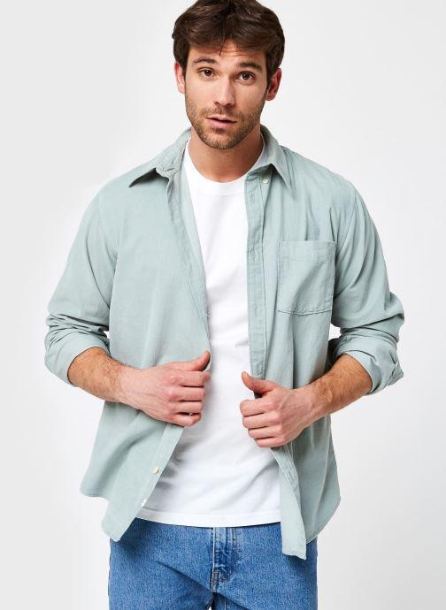 Vêtements Accessoires Slhslimoscar Shirt Ls Cord W