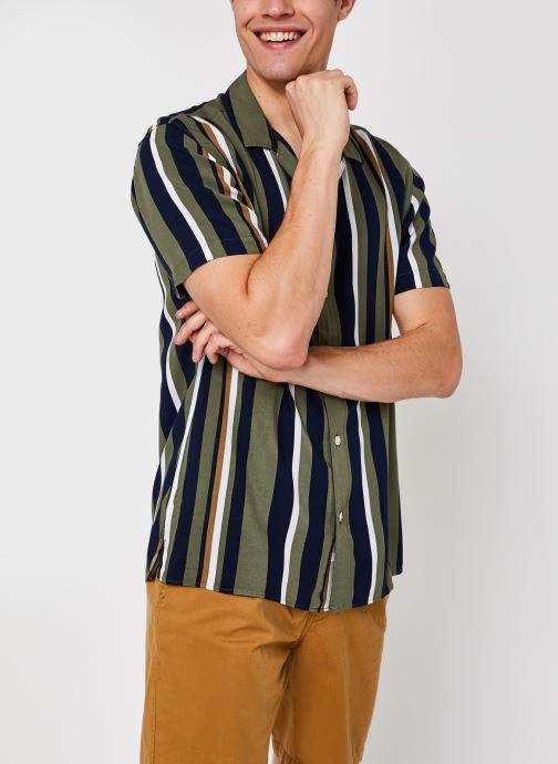 Kleding Accessoires Slhregmichael Shirt Ss Stripes W