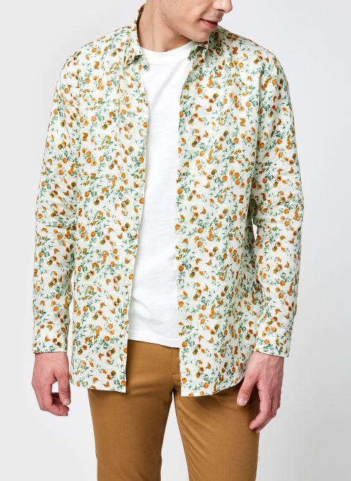 Tøj Accessories Slhregrex-Cress Shirt Ls Aop B
