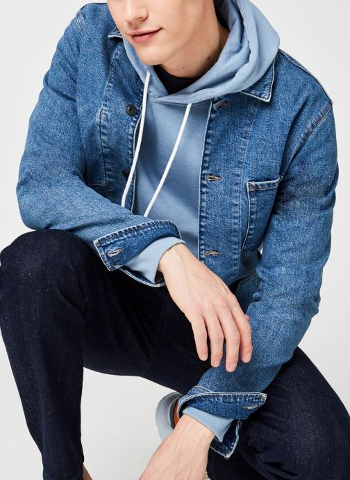 Vêtements Accessoires Slhjackson 8022 M.Blue Denim Jacket U