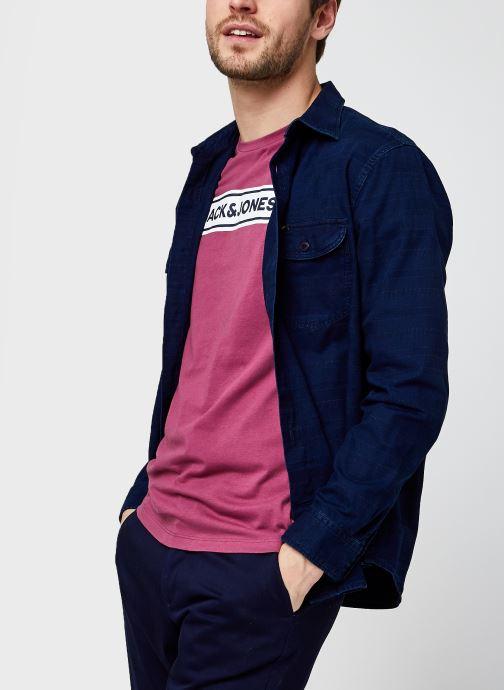 Vêtements Lee Worker Shirt Bleu vue détail/paire