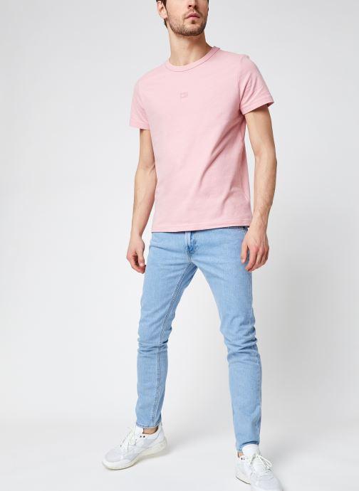 Vêtements Lee Luke Bleu vue bas / vue portée sac