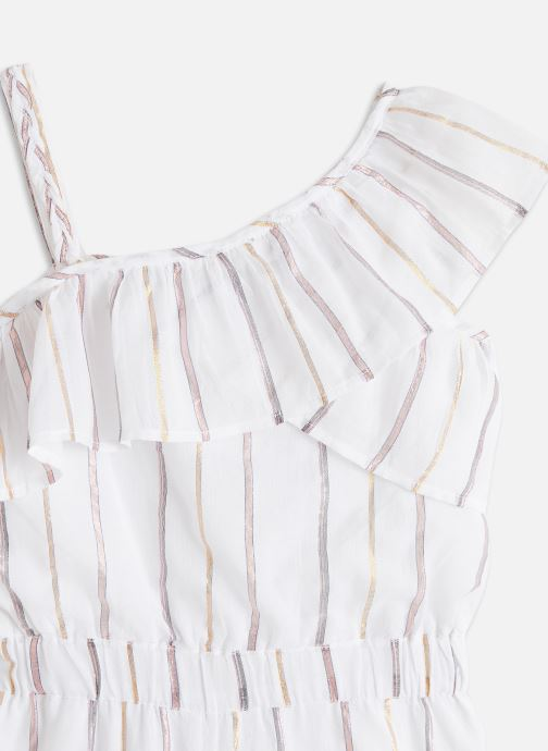 Vêtements Carrement Beau COMBINAISON COURTE Blanc vue portées chaussures
