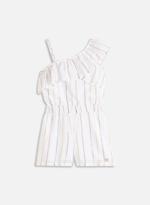 Vêtements Carrement Beau COMBINAISON COURTE Blanc vue détail/paire