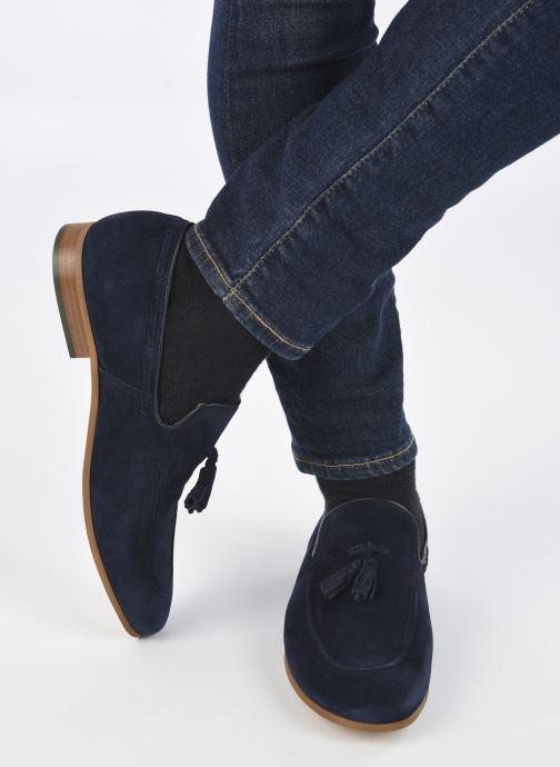 Slipper Marvin&Co NIKOU blau ansicht von unten / tasche getragen