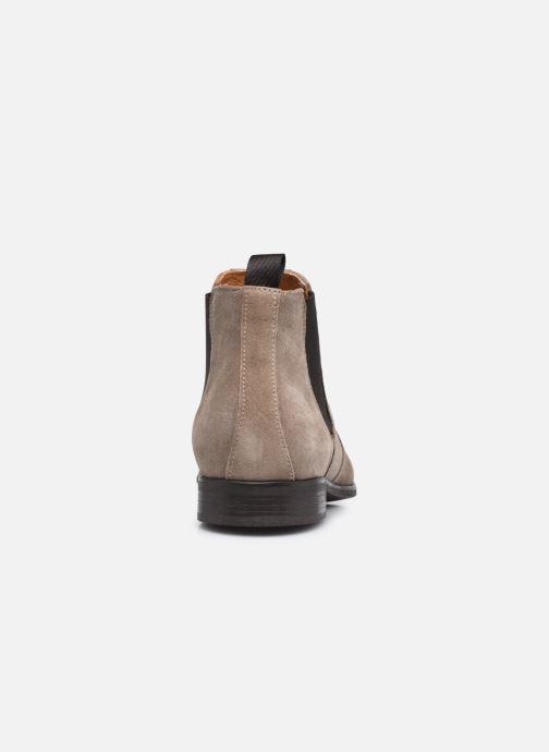 Boots en enkellaarsjes Marvin&Co NIKONA Beige rechts