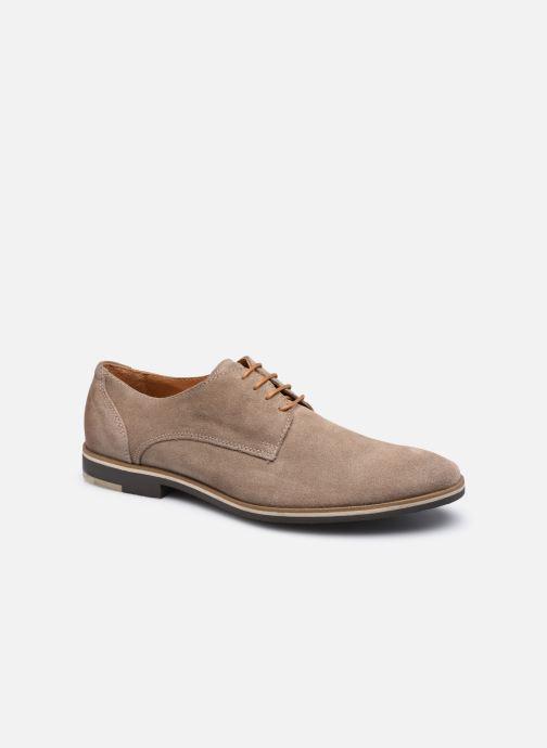 Chaussures à lacets Marvin&Co NIKROA Beige vue détail/paire