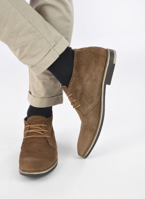 Bottines et boots Marvin&Co NIKASUAL Beige vue bas / vue portée sac