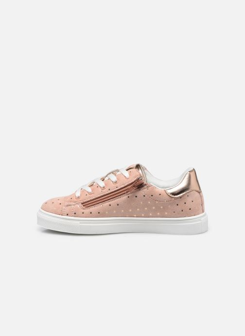 Baskets I Love Shoes THEROSIE Rose vue face