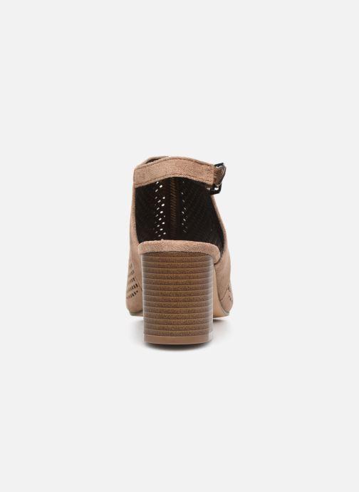 Stivaletti e tronchetti I Love Shoes THABATHA Beige immagine destra