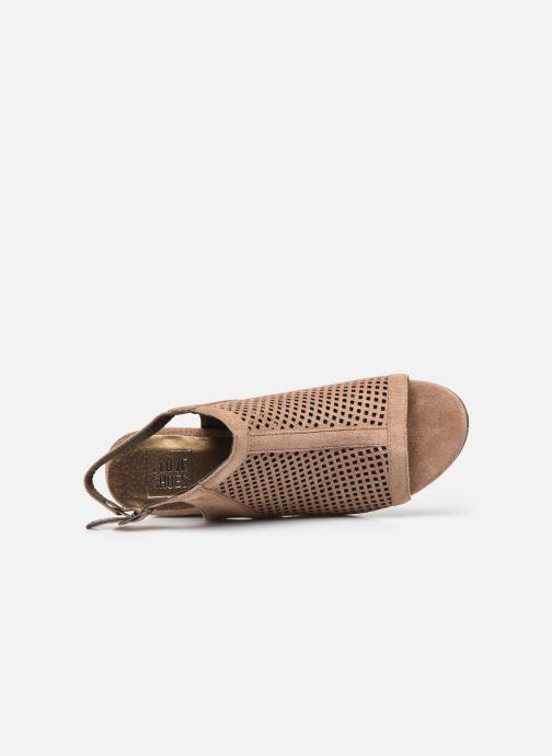 Stivaletti e tronchetti I Love Shoes THABATHA Beige immagine sinistra