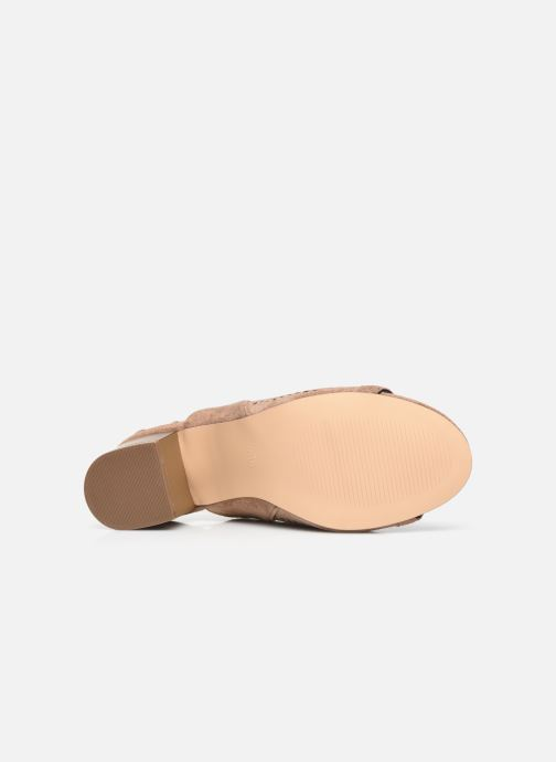 Stivaletti e tronchetti I Love Shoes THABATHA Beige immagine dall'alto