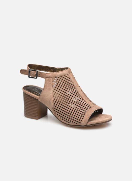 Bottines et boots I Love Shoes THABATHA Beige vue détail/paire