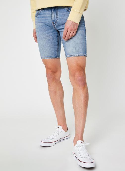 Kleding Levi's 412™ Slim Short Blauw detail