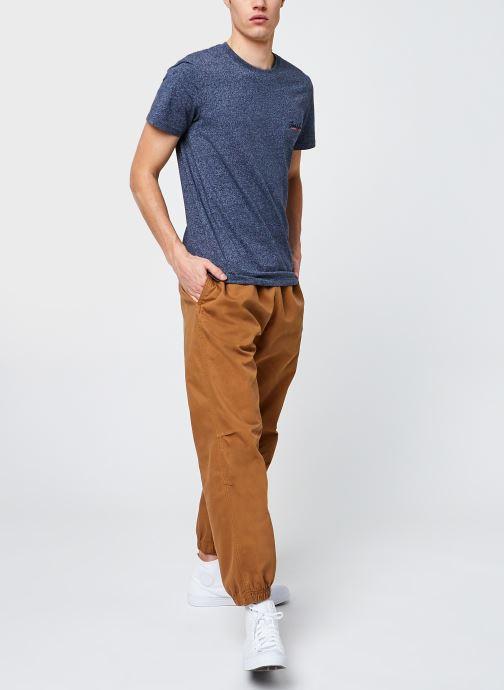 Vêtements Levi's Marine Jogger Marron vue bas / vue portée sac