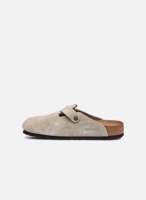 Pantofole Birkenstock Boston Sfb Beige immagine frontale