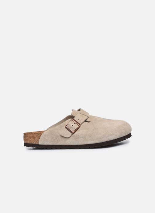 Pantofole Birkenstock Boston Sfb Beige immagine posteriore