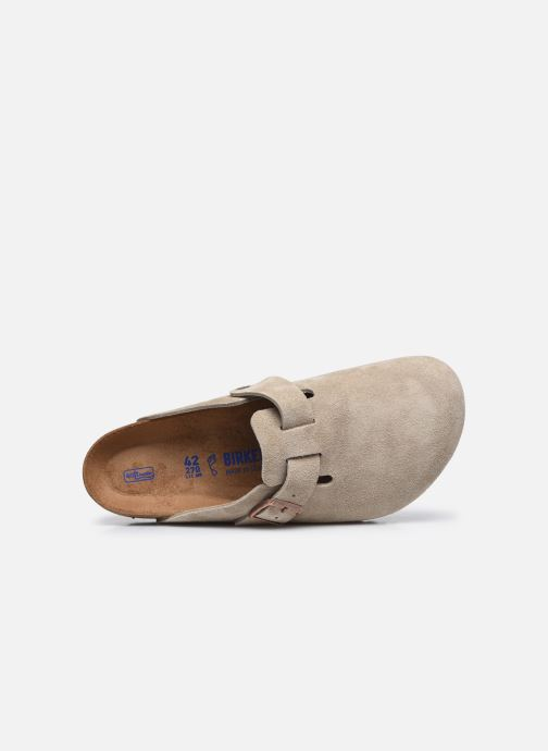 Pantofole Birkenstock Boston Sfb Beige immagine sinistra
