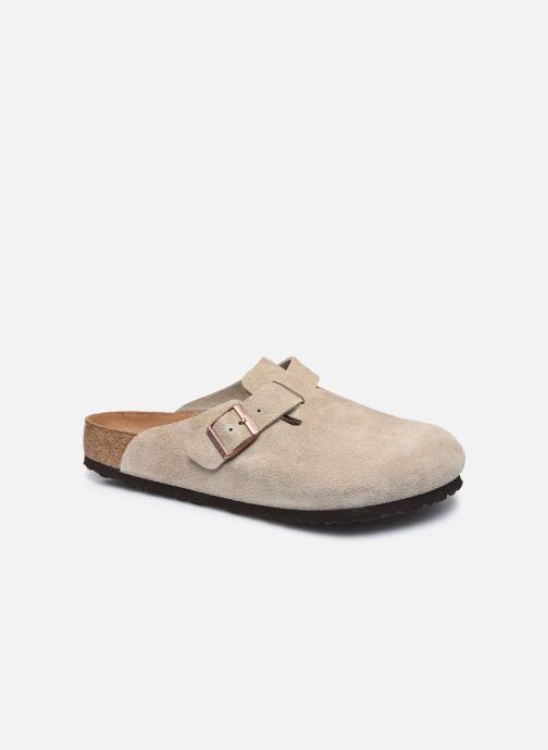 Pantofole Birkenstock Boston Sfb Beige vedi dettaglio/paio