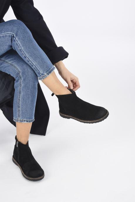 Stiefeletten & Boots Birkenstock Melrose W schwarz ansicht von unten / tasche getragen