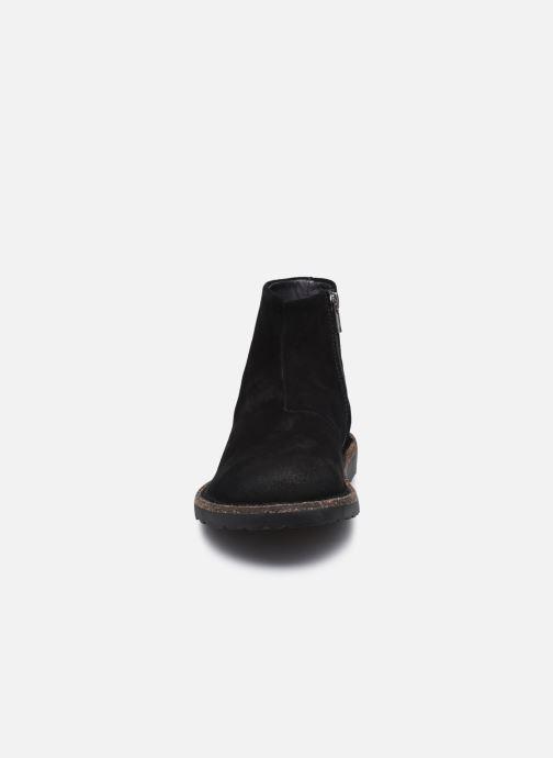 Stiefeletten & Boots Birkenstock Melrose W schwarz schuhe getragen