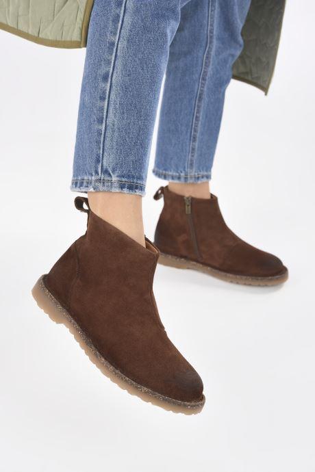 Stiefeletten & Boots Birkenstock Melrose W braun ansicht von unten / tasche getragen