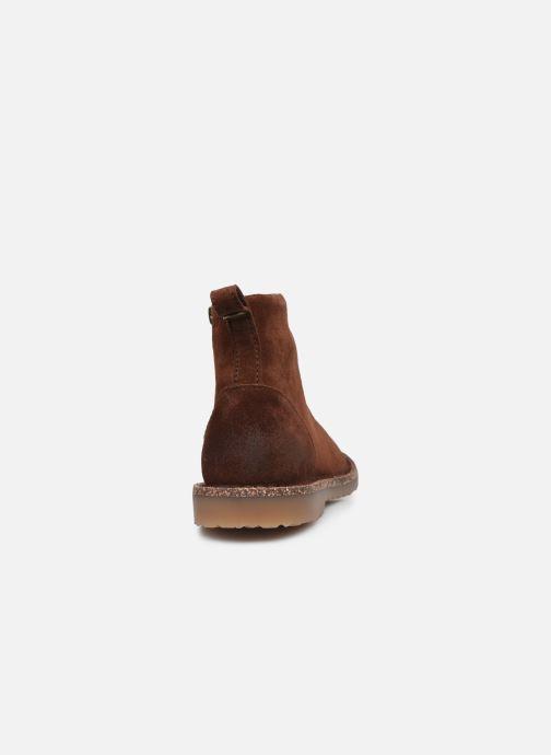 Stiefeletten & Boots Birkenstock Melrose W braun ansicht von rechts