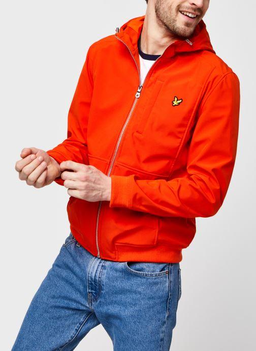 Kleding Lyle & Scott Softshell Jacket Oranje detail