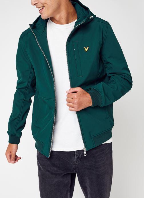 Vêtements Lyle & Scott Softshell Jacket Vert vue détail/paire