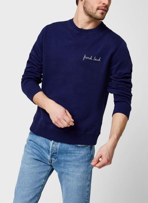 Kleding Maison Labiche Sweatshirt French Touch/Gots Blauw detail