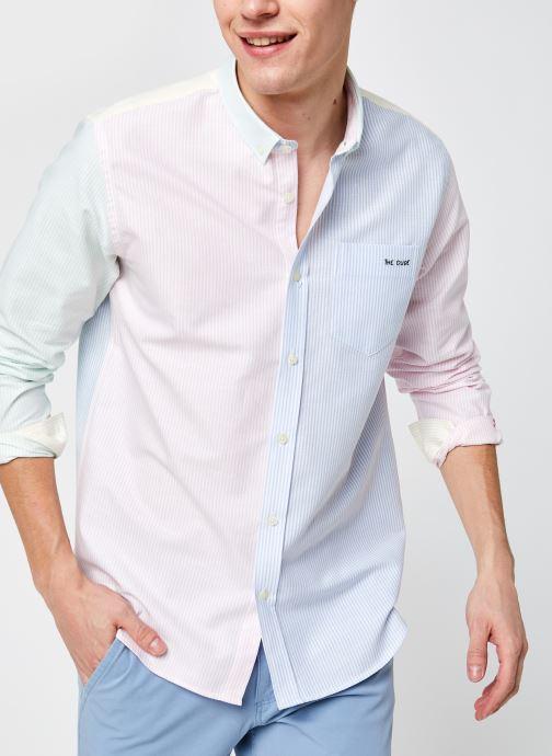 Vêtements Maison Labiche Straightfit Shirt The Dude Multicolore vue détail/paire