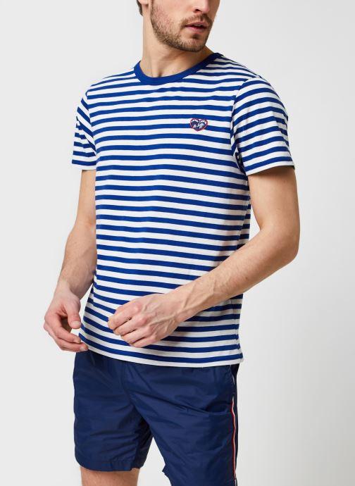 Vêtements Accessoires Striped Tee Ss Patch Mlb/Gots