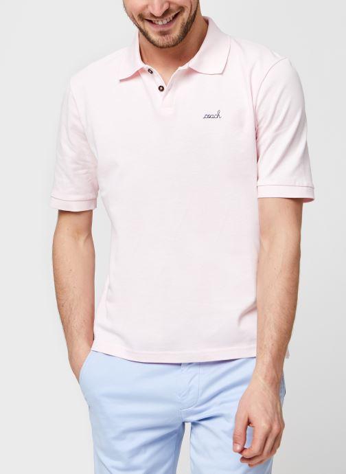 Vêtements Accessoires Tennis Polo Ss Coach/Gots