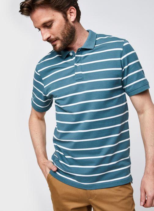 Vêtements Only & Sons Onscooper Life Regular  Polo Bleu vue détail/paire